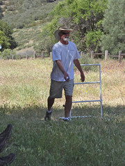 ladder golf ken (maureenld) Tags: camping friends game fun 40th bash may ken db annual pinnacles 2012 pinnaclesnationalmonument bethereorbesquare laddergolf desertbash btobs