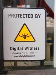 digital witness (silverfuture) Tags: chicago sign sticker symbol signage bigbrother logansquare illuminati symbolism eyeinthepyramid theallseeingeye protectedby surveillancestate theeyeofhorus theeyeofprovidence digitalwitness managingyourenvironment theallseeingeyeofgod
