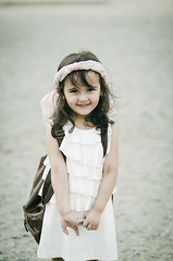 (Ebtesam.) Tags: white girl kid nikon child outdoor 85mm saudi arabia jeddah ebtesam nikond7000