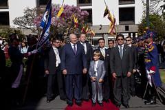 Ofrenda Floral, Presidente de Belars (Cancillera Ecuador) Tags: alexander lukashenko belars