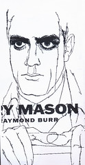 Raymond Burr by David Stone Martin (feldenchrist) Tags: illustration drawing line raymondburr davidstonemartin