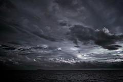 SDIM1036  Remain in Blue (Keishi Etoh rough-and-ready photoglaph) Tags: dp1x   ariakebay sigma omuta foveon sunset sigmadp1x dp1 28mm