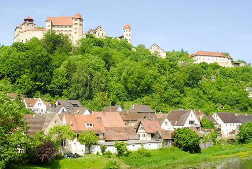 Burg Harburg über der Stadt Harburg im Altmühltal