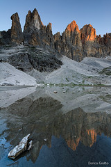 La prima luce | Pale di San Martino | Dolomiti - The first light | Dolomites (Enrico Grotto) Tags:
