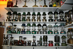 Lamp collection (Matthijs (NL)) Tags: lamp canon collection lantern coleman thermos kerosene 30d paraffin canoneos30d