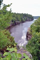 St. Coix River (jpellgen) Tags: statepark summer usa minnesota wisconsin america river nikon midwest border july stcroix tamron mn wi 2012 taylorsfalls 18200mm d3100