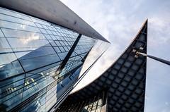 geometry, bonn (Tafelzwerk) Tags: building tower architecture skyscraper nikon bonn post geometry sigma architektur 8mm turm gebäude dhl wolkenkratzer deutschepost geometrie d7000 tafelzwerk