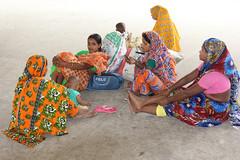 Waiting for the train (martien van asseldonk) Tags: women dhaka bangladesh martienvanasseldonk