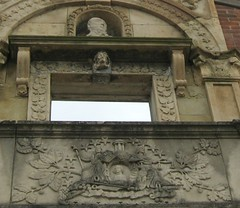 Facade of the Heigold House (elycefeliz) Tags: kentucky stonecarving louisville heigold