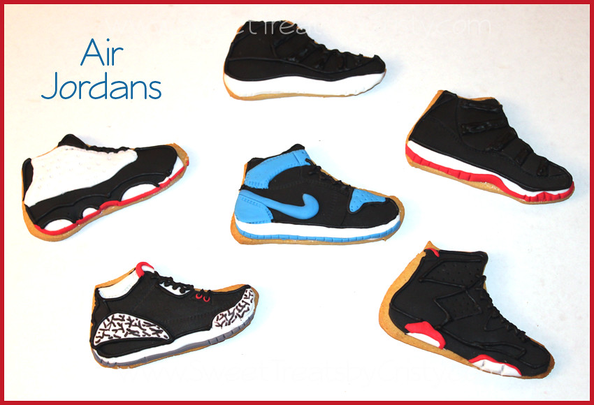 sale retailer adbfb 45b04 Air Jordan Cookies (Sweet Treats by Cristy) Tags  party baby cute sports  cookies