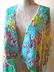 Vintage Silk Geisha Cape (AllThingsPretty) Tags: vintage antique australia jewellery clothes etsy beaded