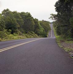 Never been that far (- Francois Pe -) Tags: road film mediumformat hawaii hasselblad kauai argentique