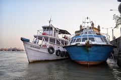 Mumbai Sea (Shashi Shah) Tags: india boats cost mumbai gatewayindia mumbaibeach mumbaisea mumbaimarin