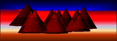 Pyramidion (Nelly.YQB) Tags: art colours surreal digiart pyramides