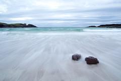 Clachtoll beach (markmburns) Tags: longexposure beach waves