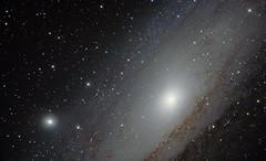 M31 - The Andromeda Galaxy (derrykdavis) Tags: andromeda galaxy m31 dslr messier ngc224 m32 ngc221 Astrometrydotnet:status=solved at6rc Astrometrydotnet:version=14400 Astrometrydotnet:id=alpha20120875968835