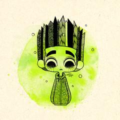 Tributo Paranorman (Anita Mejia) Tags: art illustration ink movie norman fanart tribute zombies pendrawing chocolatita anitamejia paranorman