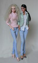 Saree and Mac - Denim (LyanneNZ) Tags: ficon saree mac