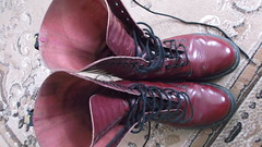 DSCF9632 (rugby#9) Tags: original feet yellow cherry boot shoe hole boots lace dr air 14 7 indoor icon wear size footwear stitching comfort sole doc 1914 cushion soles dm docs eyelets drmartens bouncing airwair docmartens martens dms cushioned wair doctormarten 14hole yellowstitching