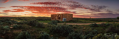 Silverton Ruins (Trevor Tutt) Tags: silverton nsw outback brokenhill sunset clouds sky building ruins trevortutt sony a7r2 panoramic panorama