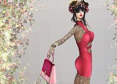 Scandalize - BeJealous Dress (Rehana MiSS SLVietnam, Face of CHOP ZUEY 2015) Tags: secondlife fashion rehana rehanaseljan newrelease scandalize chopzuey zenith belleza slink moncheri shi carolg