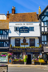 The Haunch of Venison (gwpics) Tags: england historic plants restaurant greatbritain english frontelevation exterior salisbury upright timbered publichouse flowers wiltshire british history architecture heritage building pub uk britishisles eatery old outdoors outside unitedkingdom vertical wilts