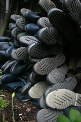 Stacked Wellies (welliesfan1) Tags: regenlaarzen tuinlaarzen rubberlaarzen laarzen dunlopsportlaarzen hevealaarzen vredesteinlaarzen stiefel regenstiefel gummistiefel wellies boots