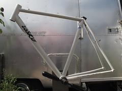 {camera clean} steel CX (ROSKO.CC) Tags: framebuilding framebuilder madeinnyc madeinbrooklyn madeinusa steel columbustubing tigwelding hand handbuilt light racing bicycle bicycleracing custom bike frame