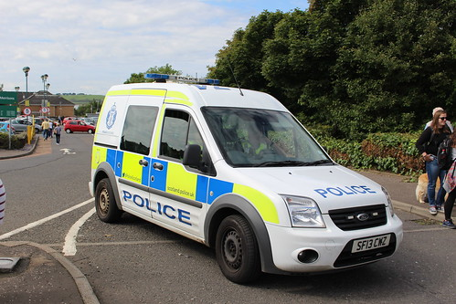LARGS SF13 CWZ FORD TRANSIT TOURNEO CONNECT POLICE SCOTLAND