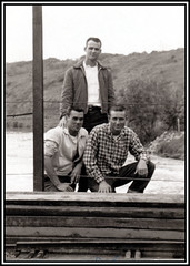 Friends on the Moselle River France - 1963 (Sarge-Jack) Tags: 19thtrs 19thtacrecon recon