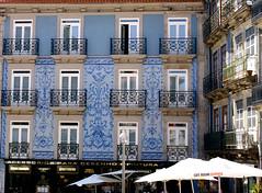 streets in porto (isabellerosenberg) Tags: porto portugal building architecture azulejo tiles