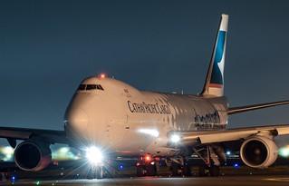 B-LJA Cathay Pacific Boeing 747-867F - cn 39238 / 1427