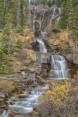 Tangle Falls (Philip Kuntz) Tags: tanglefalls waterfall icefieldsparkway jasper jaspernationalpark autumn alberta canada explore