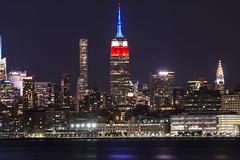 New York City Skyline September 11 2016 (Camera-junkie) Tags: empirestatebuilding nyc nycskyline nikond7100 september112016 tributeinlights jerseycity libertystatepark