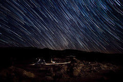 Final Camp. (Chazz Layne) Tags: deathvalley camp camping fathercrowleypoint roadtrip subaru forester foz star stars trail startrails starstax wanderlust nemo adventure explore mojave desert travel overland galaxi2p galaxi tent