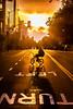Oakland 2010 (Thomas Hawk) Tags: california eastbay johannesmersehle oakland oaklandriots oaklandriots2010 oscargrant usa unitedstates unitedstatesofamerica bicycle bike oaklandca070810 protest riot riots sunset fav10 fav25 fav50 fav100
