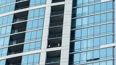 flamingos on the balcony... (BlogKing) Tags: philadelphia balcony condos