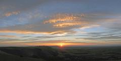 1345x-6x pan Devil's Dyke sunset 7 Sep 16 EXPLORED (call me Michael) Tags: devilsdyke sussexsunset