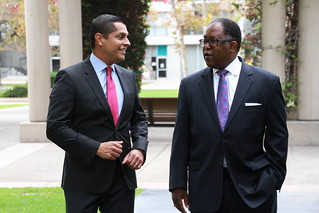 Miguel Santiago is endorsed by Supervisor Mark Ridley-Thomas