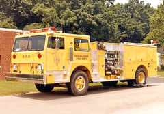 Beavercreek - Engine 1 (kyfireenginephoto) Tags: greenecounty dayton pierce 1980 fireengine pumper xenia bfd hendrickson kettering ohiofire