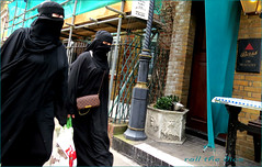 `1772 (roll the dice) Tags: london westminster londonist marylebone w2 pub publichouse boozer closed vanished beer ale drinking sad mad funny sexy pretty girls muslim islam burka veiled face eyes shopping fashion shops people natural bass canon tourism streetphotography uk art classic urban england unaware unknown dark odd religion politics strangers portrait candid vuitton hijab burqa niqab rush blur scared double gin vodka