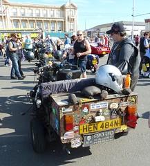 20160917 Blackpool Motor Trike HEN 484N (blackpoolbeach) Tags: motor tricycle hen484n blackpool promenade setantii fuel custom bike car show