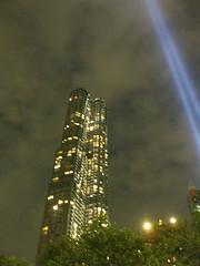 IMG_6657 (gundust) Tags: nyc ny usa september 2016 newyork newyorkcity manhattan architecture wtc worldtradecenter september11th 911 tributeinlight xeon twintowers memorial remembrance night