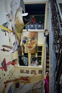 Exposition en cage d'escalier 5eme édition