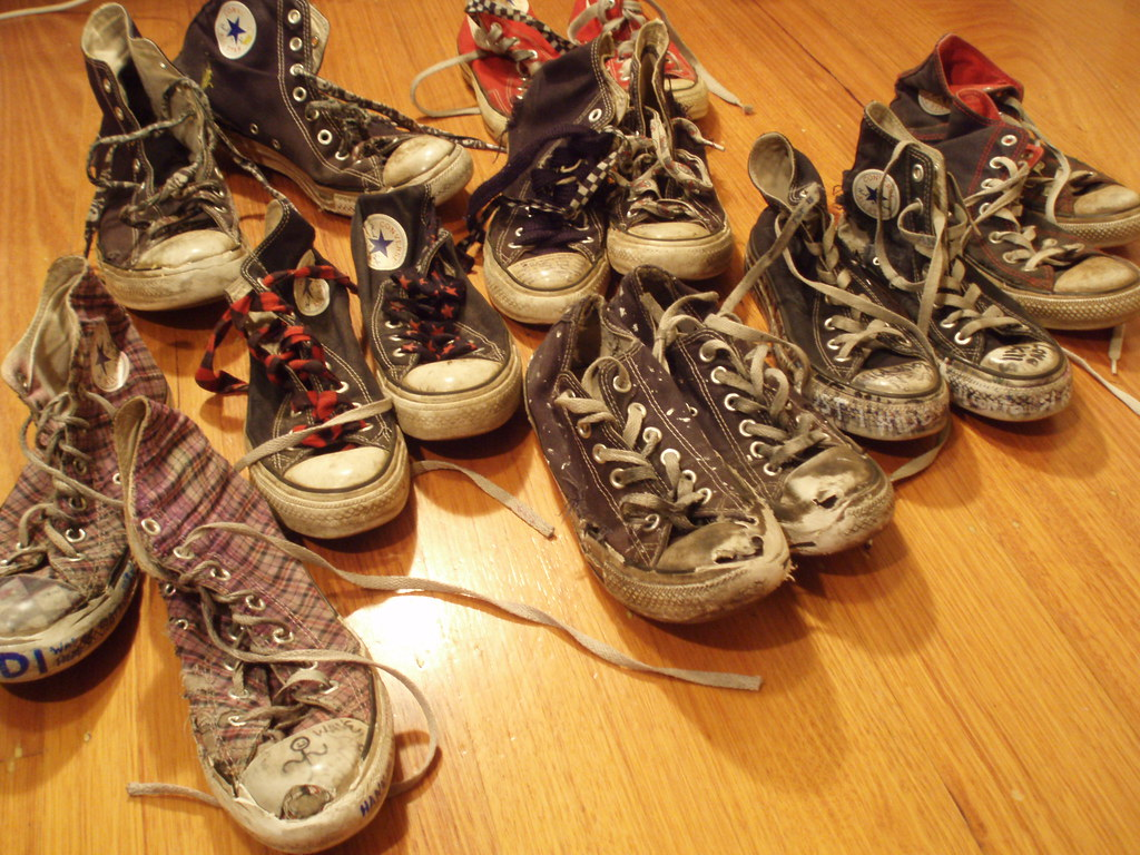 Old Converse Collection Chuck_lover Tags Old Fun Shoes Rubber Dirty Sneakers Converse Taylor