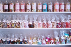 Jars of Candy (such pretty things) Tags: london shop store candy sweet mrs shoppe kibbles