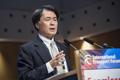 Mitsuhiko Yamashita addresses delegates on Day 2 of the Summit
