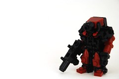 Dred Suit (Mags) Tags: 3 look head top like tags it stupid but try fools minifigure hardsuit
