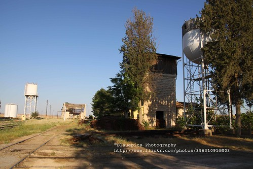 Karkamış, railway station, water towers
