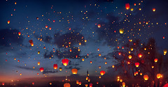 When dreams come true... (hobopeeba) Tags: light people fairytale canon baloon dreams 50mm12